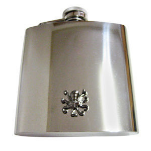 Gunmetal Toned Octopus Large Flask
